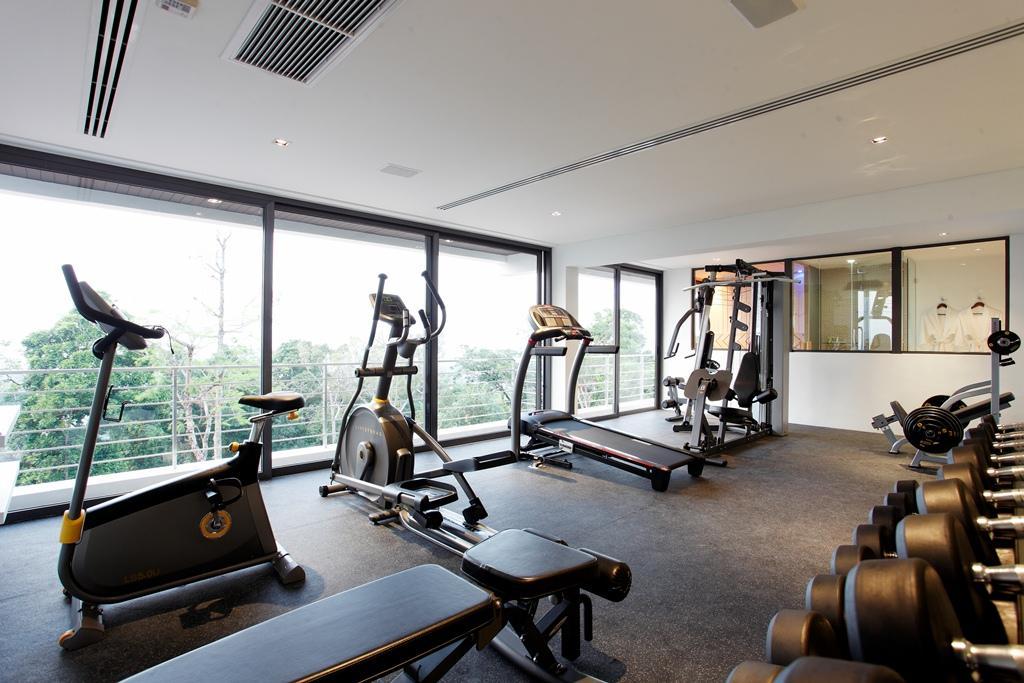 Gym room villa zereno
